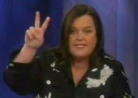 Moonbat of The View:  Rosie O'Donnell