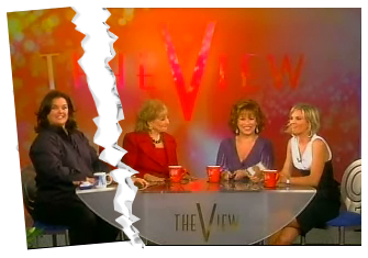 The View with Rosie O'Donnell being ripped out
