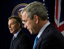 Blair irá retirando progresivamente sus tropas en Iraq.