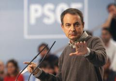 José Luis Rodríguez Zapatero fue muy duro con las palabras de Aznar.