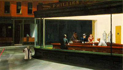 Toner Mishap: Edward Hopper, Nighthawks, and Star Wars