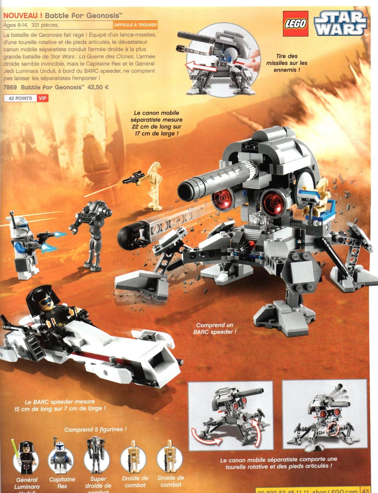 Lego Star Wars 2011