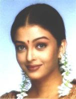 Aishwarya with jasmine in her hair