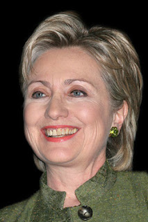 Hillary Clinton's stained teeth