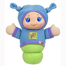 Playskool lullaby gloworm toy blue