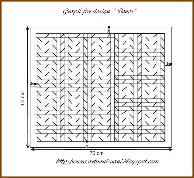 Vanis Blog 2 Graph And Instructions For Canadian Smocking Using