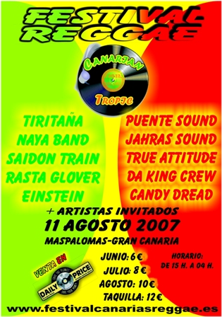 Festival Canarian Tropic 2007