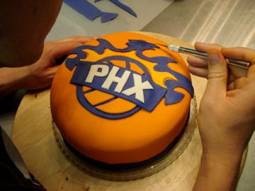 Birthday Cakes Phoenix ~ Al ian cakes phoenix suns cake