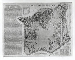 General Plan of Franklin Park