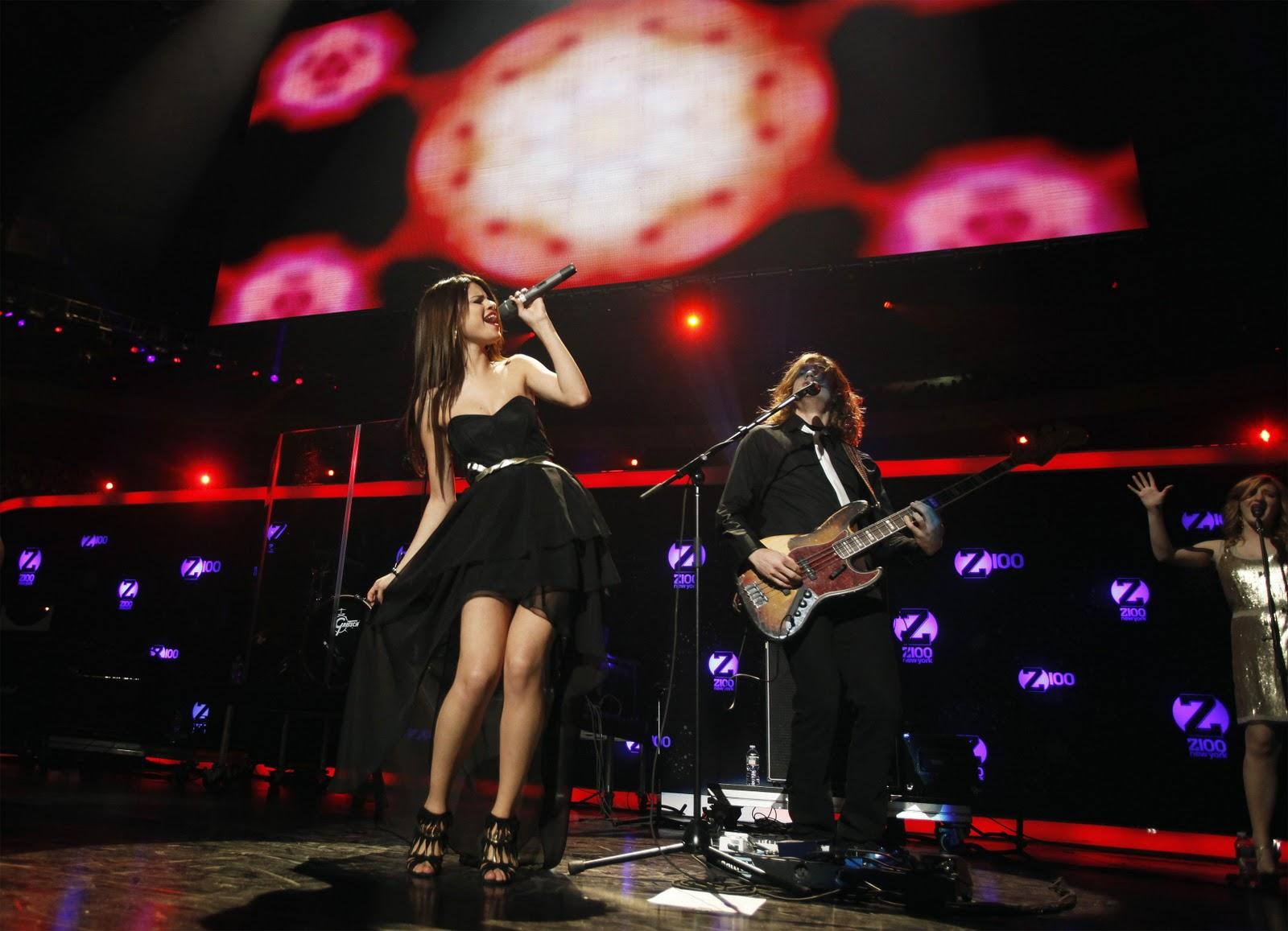 Selena gomez performence in madison square garden 2010 - Jingle ball madison square garden ...