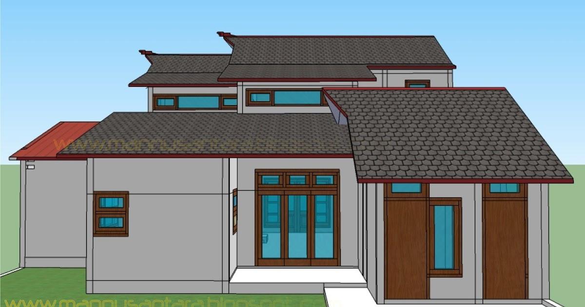 15+ Gambar Rumah Sederhana Lantai 2 Bagian Belakang