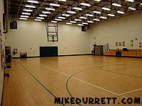 Fernbank Elementary School gymnasium, Atlanta, GA