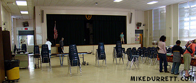 Fernbank School lunchroom