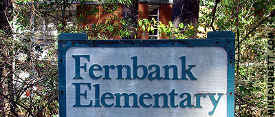 Fernbank Elementary School sign