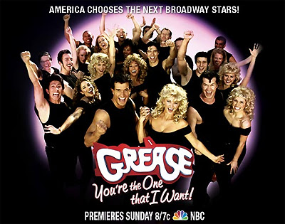 Grease - Youre the One that I Want reality NBC-TV show