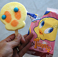 Tweety Bird popsicle