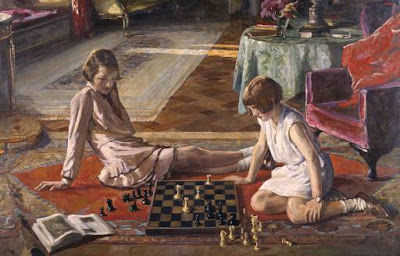 Pinturas que tem como tema o Jogo de Xadrez