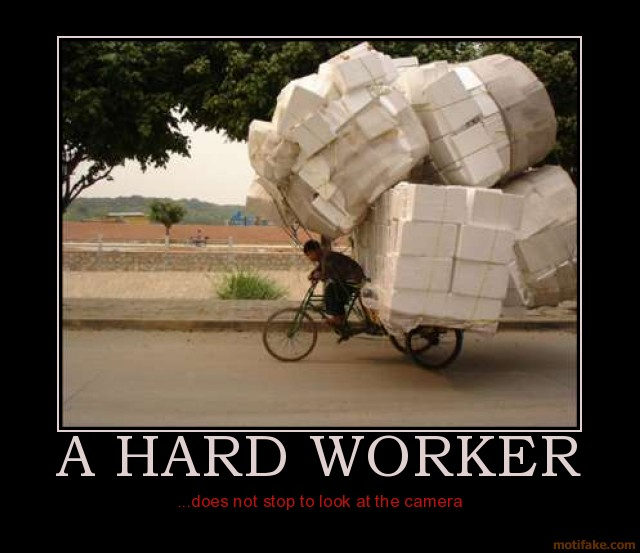 Funny Quotes About Working Hard. QuotesGram