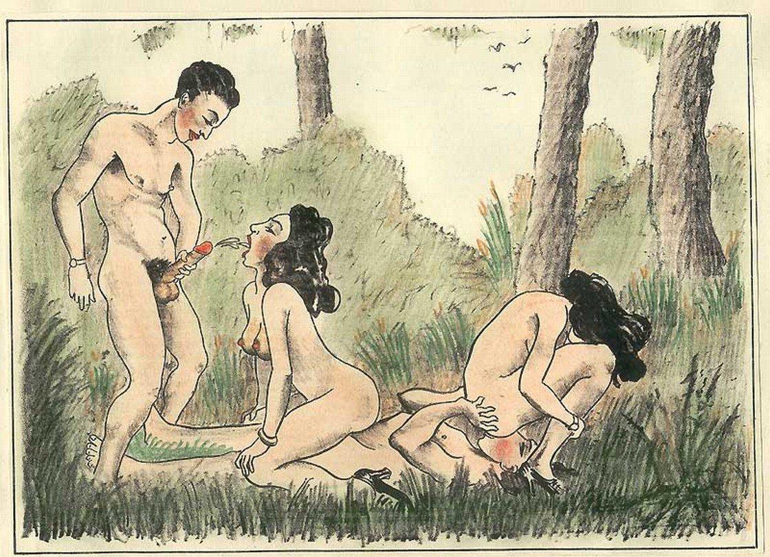 porn drawings Vintage