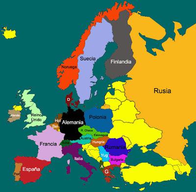 Mapa Interactivo Europa Capitales.El Rincon De Andreito Mapa Interactivo De Paises Y