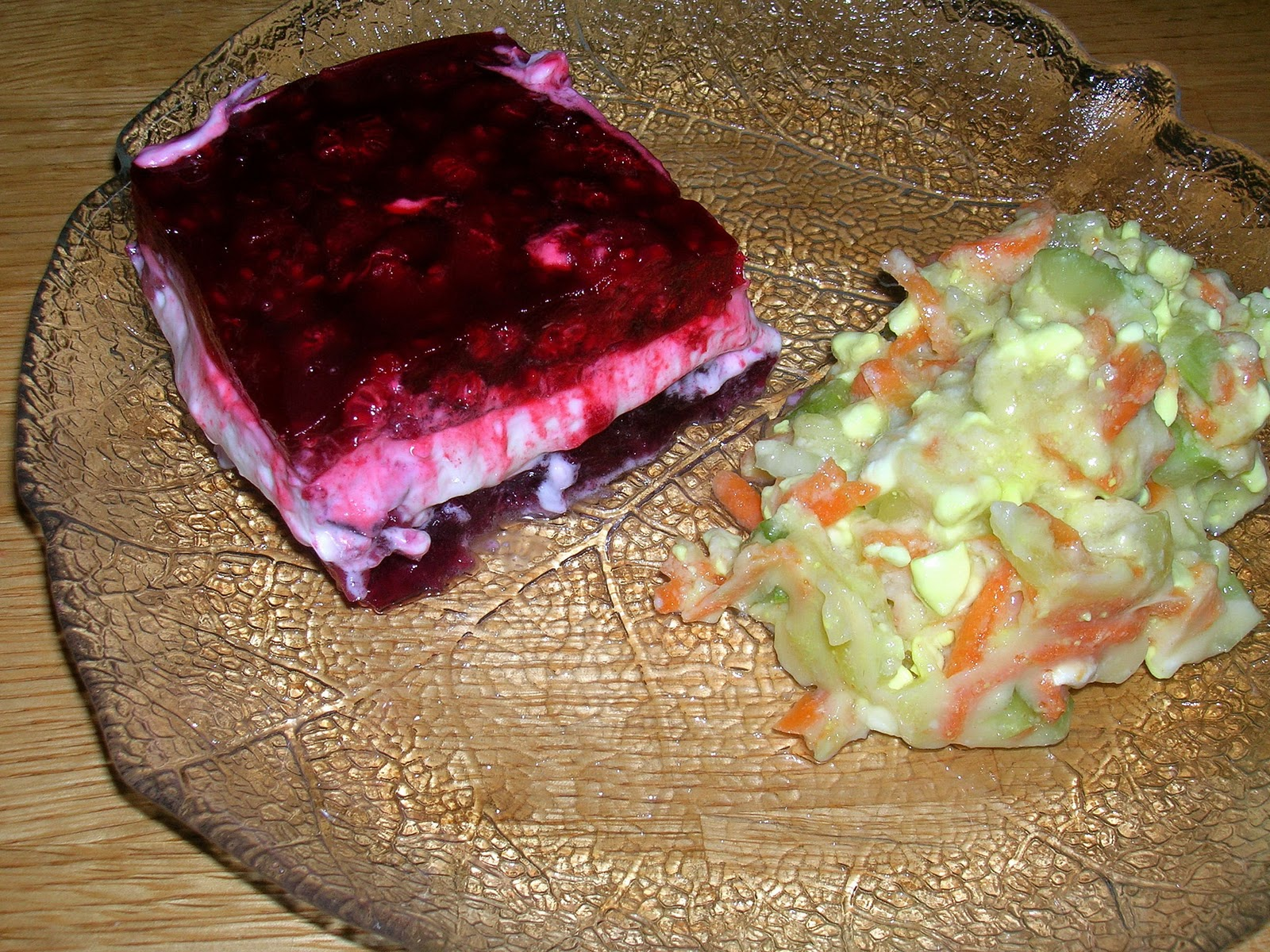 Swell My Mountain Garden Gleanings Red And Green Jellied Salads Interior Design Ideas Clesiryabchikinfo