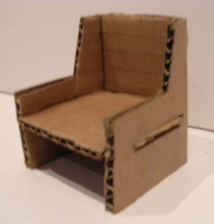 This Exercise Allow Me To Explore The Possibilities Of Making Chairs With Cardboard Paper Without Using Any Glue Every Joinery Must Be Slotted Together