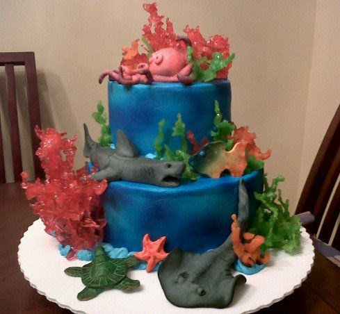How To Make Ice Molds Cake Boss