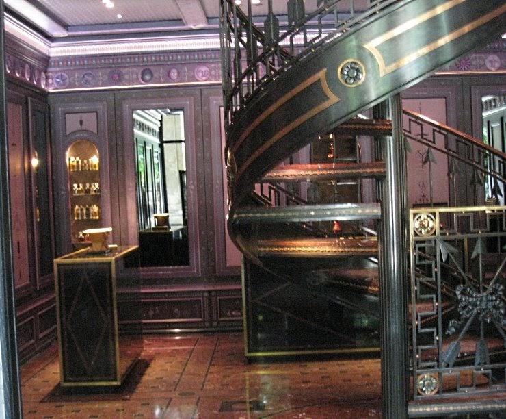 An american blogger in paris serge lutens at the salons du palais royal shiseido the non blonde - Salon de the palais royal ...
