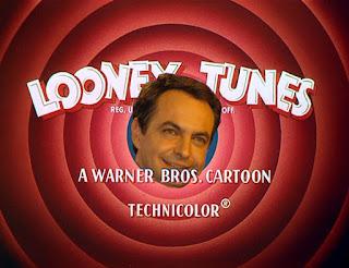 Zapatero presidente de los Looney Tunes