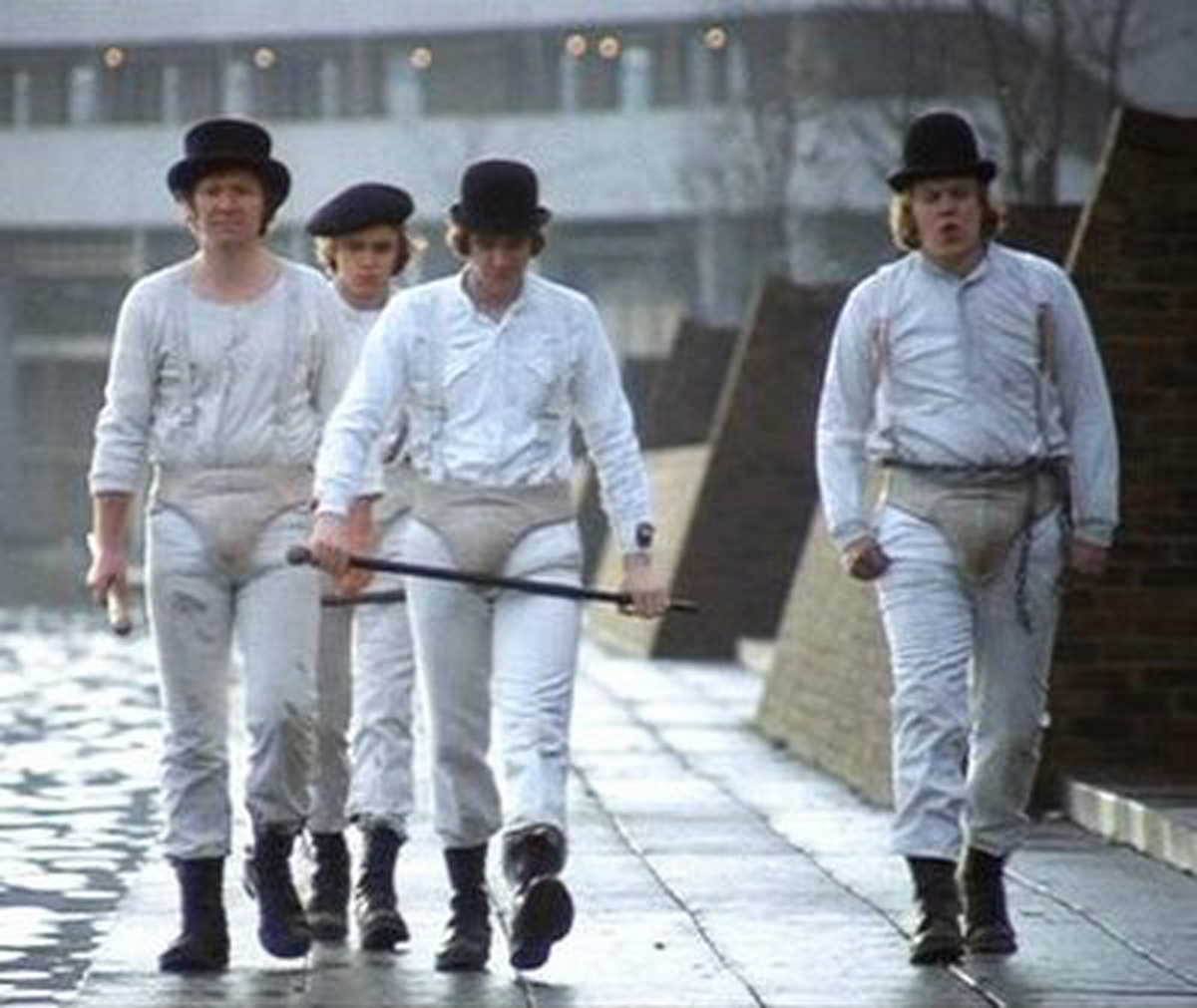 Clockwork orange skinhead