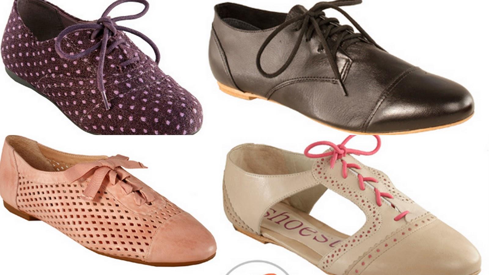44ea81991 Cositas de Mulher  Vem com tudo em 2011  Sapato Oxford