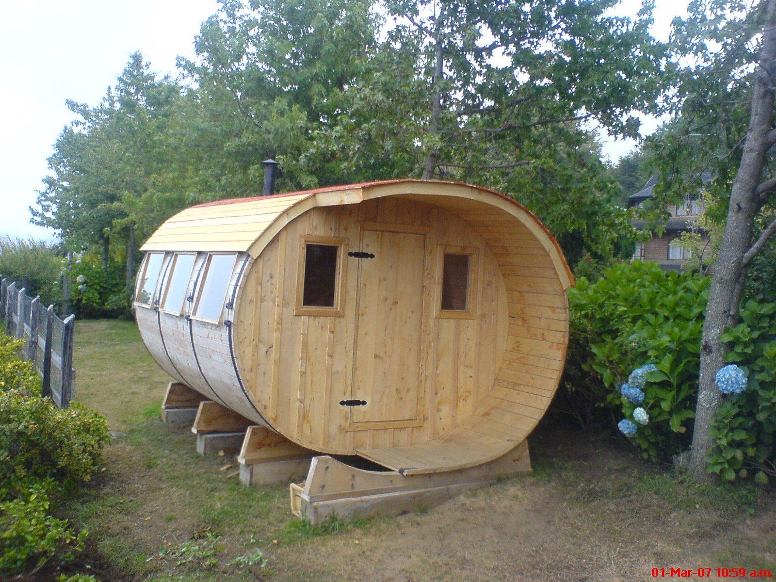 Tinas de madera saunas spa piscinas todo en madera - Construir una sauna ...