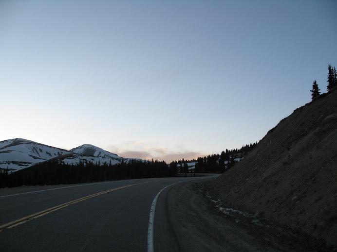 Hoosier's Pass....11,500 feet!