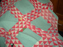 OLD CHRISTMAS FLYING GEESE CUTTER QUILT