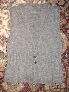 pleated vest