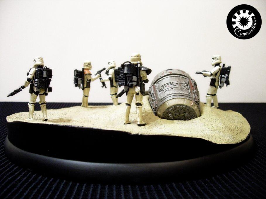 """diorama sandtrooper """"look sir,droids """" - Page 5 DSCN6470"""
