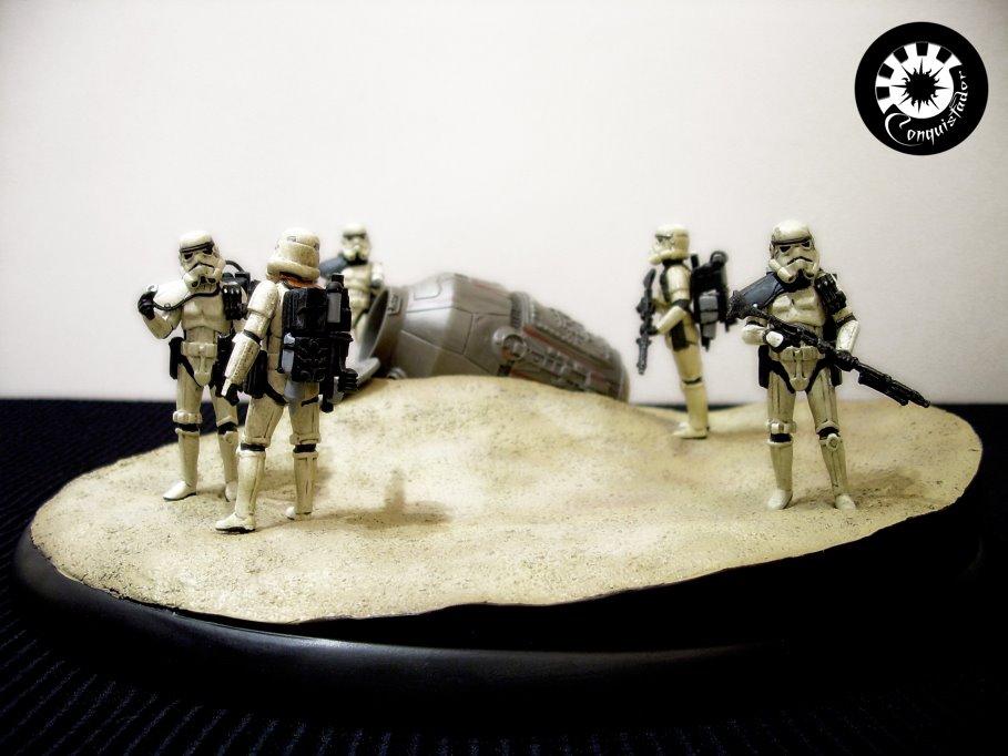 """diorama sandtrooper """"look sir,droids """" - Page 5 DSCN6469"""