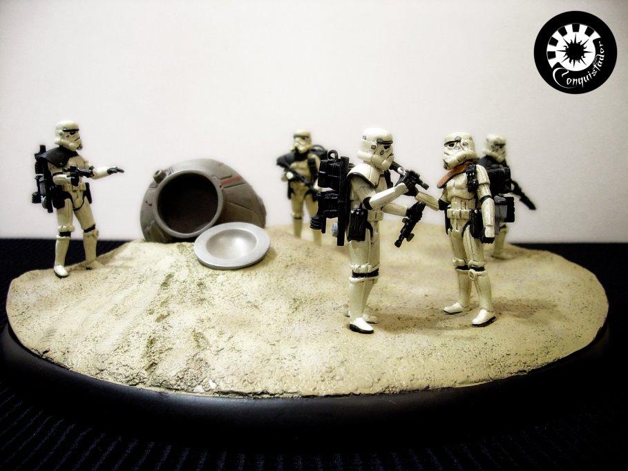 """diorama sandtrooper """"look sir,droids """" - Page 5 DSCN6467"""