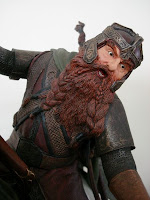 THE LORD OF THE RINGS: Weta Statue : Legolas and Gimli on Arod