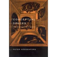 Conceptual Spaces, Gardenfors, Book cover