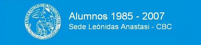 Alumnos 1985 - 2007