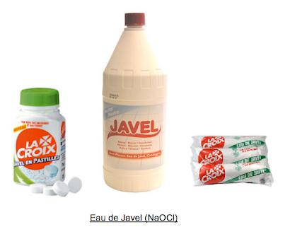 Tpe m langes dangereux de produits du quotidien f vrier 2007 for Tache eau de javel