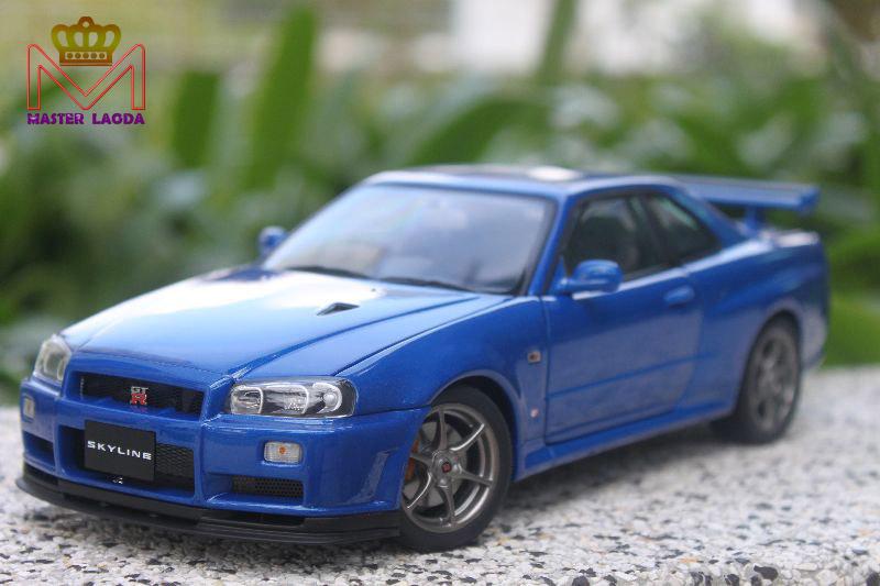 Autoart 1 18 Nissan Skyline Gt R R34 V Spec Ii