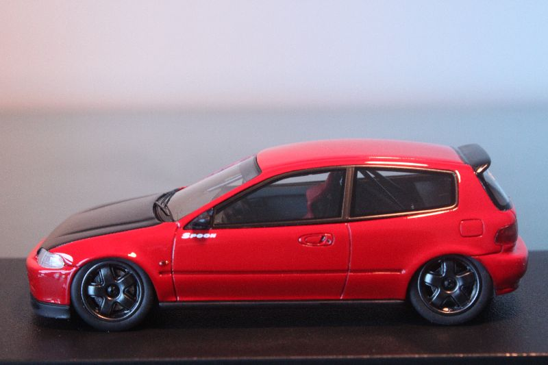 HPI 1/43 - Honda Civic EG Spoon Gr.A Racing (Red ...