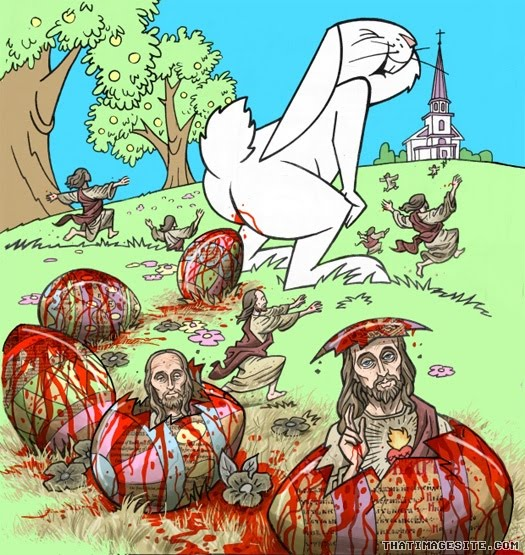 The Dyslectic Atheist: Will Jesus return this Easter ... Easter Eggs Jesus
