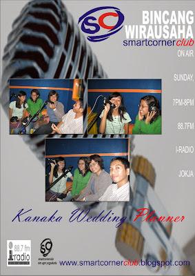 Smart Corner Club: Bincang Wirausaha (Kanaka WeddingPlanner)