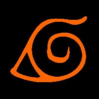 Símbolo da vila de  Konoha