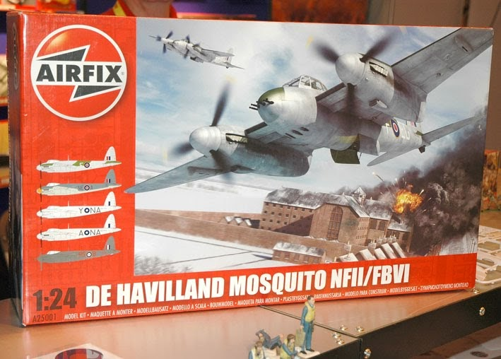 Scale Model News AIRFIX 124 SCALE MOSQUITO BREAKS COVER AT IPMS SHOW