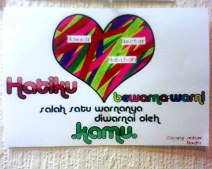 Nawwar,Habibah,Naufa.....Nectar love all of u