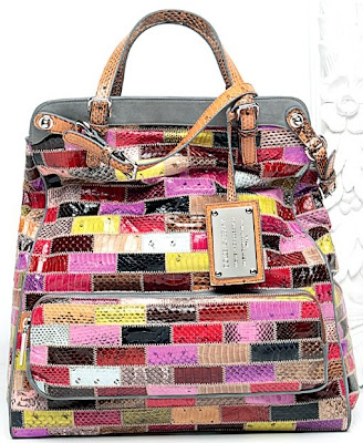 dolce and gabbana multi-colored bag.